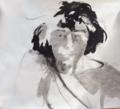 Self portrait (long hair and wash, Burlington) by Christopher Willard.png