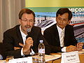 SemiconTaiwan2007 PressConference HeinzSiegert RobbinsYeh.jpg