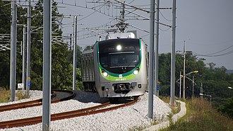 Seohae Line - Korail Class 391000 EMU.