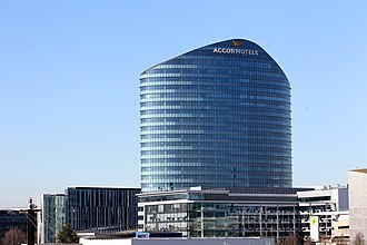 AccorHotels - One of AccorHotels's headquarters in Issy-les-Moulineaux, France