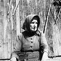 """Sestra Avsec Ane, Podlož, """"ajnfoh zavezana"""" 1962.jpg"""