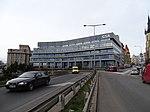Severní předmostí Hlávkova mostu, budova centrály Galileo.jpg