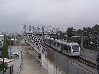 Seville Metro Rapid transit system in Seville, Spain