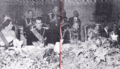Shah Pahlavi of Persia and King Baudouin of Belgium during an official state dinner.png