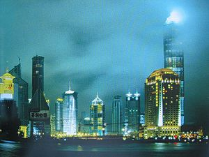Description de l'image Shangai en lumiere by grunk.jpg.