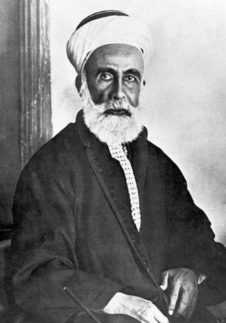 Hussein bin Ali, Sharif of Mecca - Sharif Hussein in December 1916