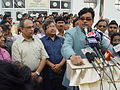 Shatrughan Sinha Delivers Speech - Maritime Centre Inauguration - Science City - Kolkata 2003-10-17 00455.JPG
