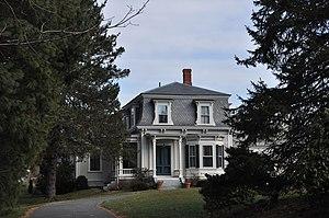 Charles Holbrook House - Image: Sherborn MA Charles Holbrook House
