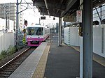 Shin-Keisei 8812 at Shin-Kamagaya Station 201807.jpg