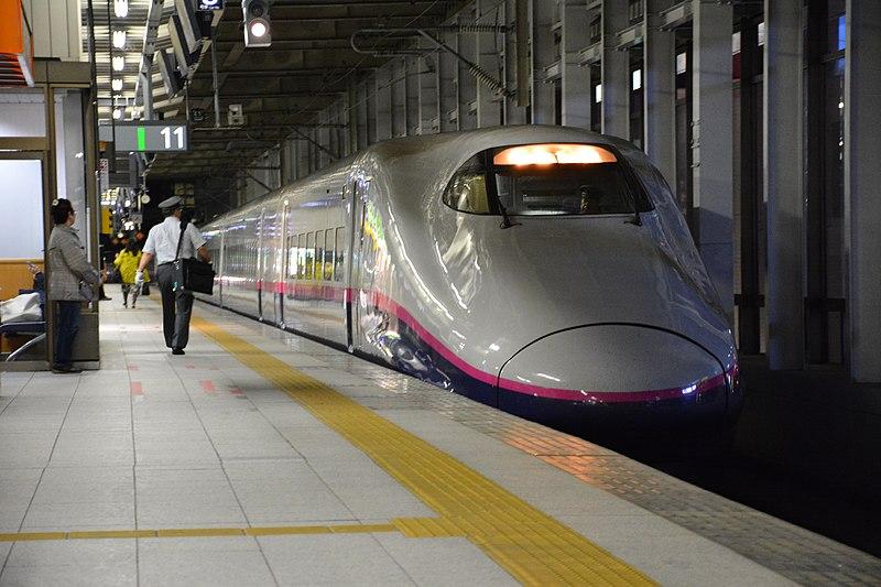 File:Shinkansen E2 at Sendai Station 2016-10-10 (30649050986).jpg