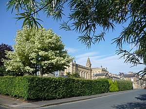 Shipley College - Shipley College and Victoria Hall, Saltaire
