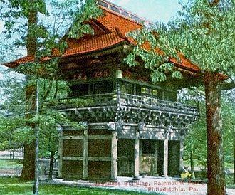Shofuso Japanese House and Garden - Nio-Mon Temple Gate
