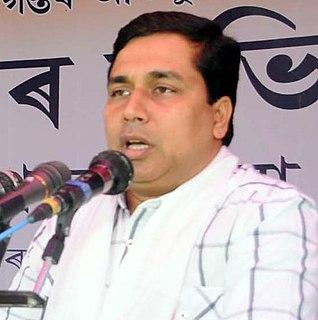 Jayanta Malla Baruah Indian politician