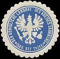 Siegelmarke Der K. Landrat des Kreises Saarburg Reg. Bezirk Trier W0385444.jpg