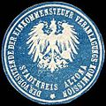 Siegelmarke Der Vorstand der Einkommensteuer Veranlagungs - Kommission - Stadtkreis Altona W0219478.jpg