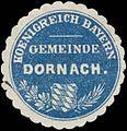 Siegelmarke Gemeinde Dornach K. Bayern W0352311.jpg