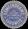 Siegelmarke Gemeindeamt Ladowitz W0391502.jpg