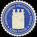 Siegelmarke Gemeindevorstand Johannisthal - Berlin - Kreis Teltow W0223137.jpg