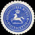 Siegelmarke Herzogliches Museum Braunschweig W0226166.jpg