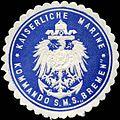Siegelmarke Kaiserliche Marine - Kommando S.M.S. Bremen W0224503.jpg
