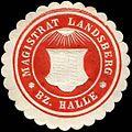 Siegelmarke Magistrat Landsberg - Bezirk Halle W0260592.jpg