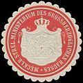 Siegelmarke Mecklb. Strel. Ministerium des Gr. Hauses W0386323.jpg