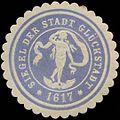 Siegelmarke Siegel der Stadt Glückstadt W0323272.jpg