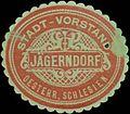 Siegelmarke Stadt-Vorstand Jägerndorf W0361746.jpg