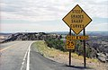Sign on Utah State Route 12 southbound, south of Boulder.jpg