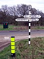 Signpost, Lane End Down - geograph.org.uk - 322440.jpg