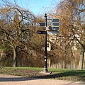 Signpost on Victoria Avenue - geograph.org.uk - 410527.jpg