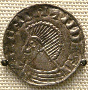 "Sigtrygg Silkbeard - A posthumous ""Sihtric"" coin from the British Museum, minted at Dublin c. 1050"