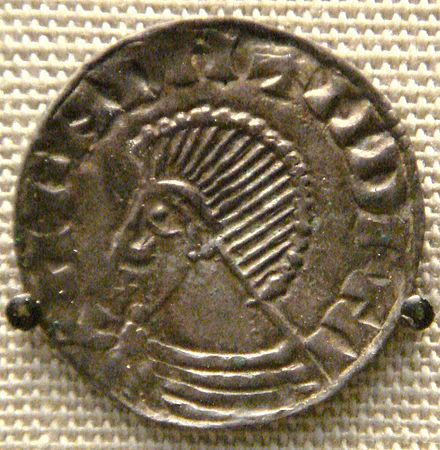 A posthumous &quotSihtric&quot coin from the British Museum, minted at Dublin c. 1050 - Kingdom of the Isles