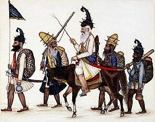 Khalsa Initiated Sikh warrior tradition started by Guru Gobind Singh, the Sikh community