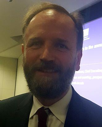 Simon Stevens (healthcare executive) - Stevens in 2016