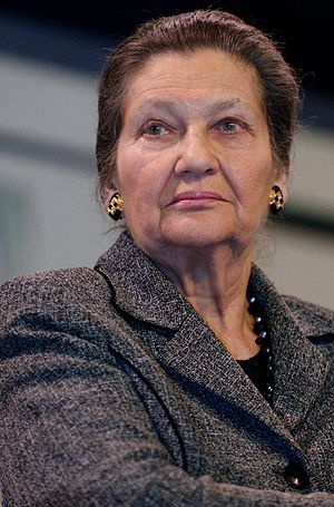 History of the European Communities (1973–93) - Simone Veil, elected the first female President of Parliament