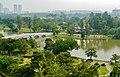 Singapore Chinesischer Garten Blick von der Pagode auf die Brücke 2.jpg