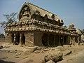 Single rock cut sculpture view at Mahabalipuram.jpg