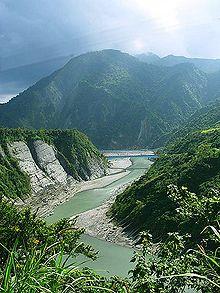 Fiume Shiukuluan - Contea di Hualien
