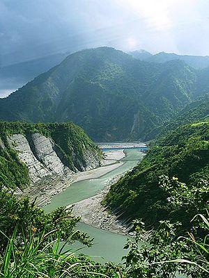Shiukuluan River - Hualien County.