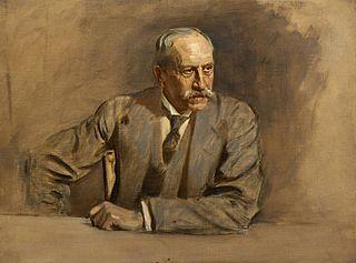 Sir Alfred Milner, 1st Viscount Milner, 1854 - 1925. Statesman. (Study for portrait in Statesmen of the Great War)