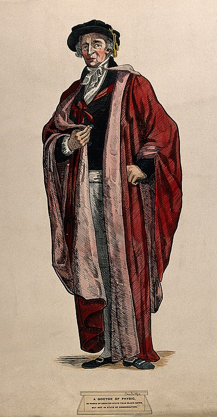 Sir Pennington in his ceremonial robes. Credit: Wellcome Library Sir Isaac Pennington in his ceremonial robes as doctor of ph Wellcome V0017098.jpg