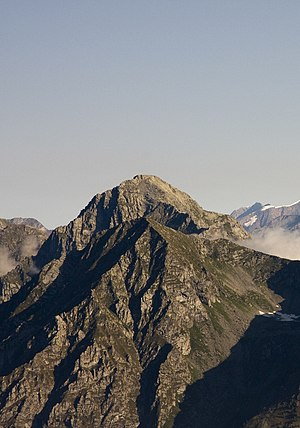 Monte Tagliaferro - The south face from Punta Sivella