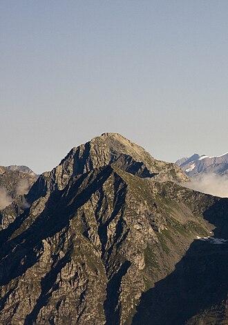 Monte Tagliaferro - The south face from Punta Sivella