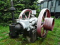 Skansen w Chabówce -silnik 07.JPG