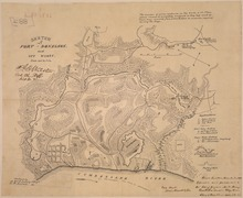 Fort Donelson Wikipedia - Ft donelson river on us map
