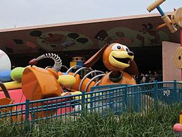 Attractie in Hong Kong Disneyland