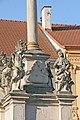 Sloup se sochou Panny Marie na náměstí ve Vranově nad Dyjí 03.JPG