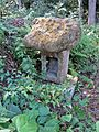 Small shrine of Former Kashima-Amatarashiwake-jinja shrine.JPG