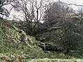 Small waterfall on an un-named tributary of Mohope Burn - geograph.org.uk - 1288469.jpg